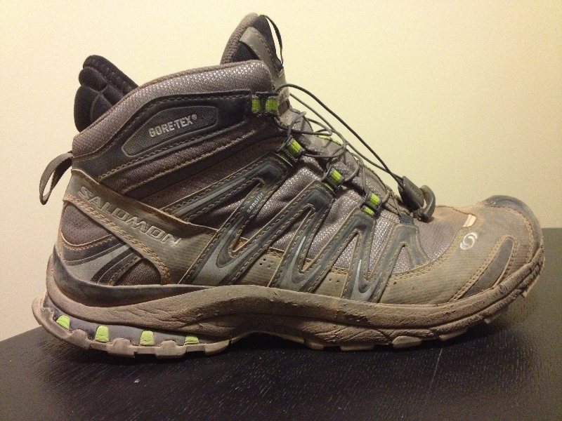 design intemporel 0e953 46be3 Camelback Footwear Review: Salomon XA PRO 3D MID GTX Trail ...